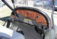Club Car Precedent Wood Grain Dash $ 109.00