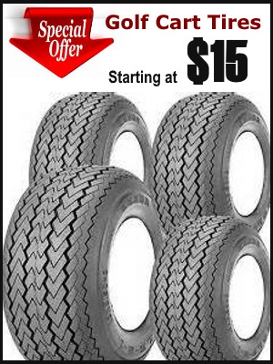 Golf Cart Tires Special Sale