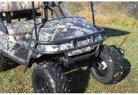Black Powder Coat Steel Brush Guard EZ-GO $125.00