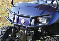 Black Powder Coat Steel Yamaha Drive Brush Guard $ 125.00