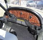 Club Car Precedent Wood Grain Dash