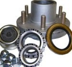 Complete Trailer Hub Assembly