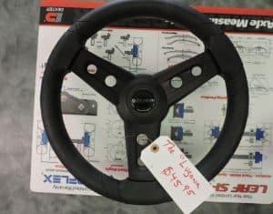 Italian Made EZ-Go Lugana Steering Wheel + Hub $ 45.95, Club Car Precedent Lugana $ 55.95