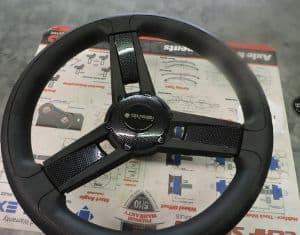 Italian Made Marine Grade Carbon Fiber Ez-Go or Club Car Precedent Steering Wheel + Hub $ 72.95