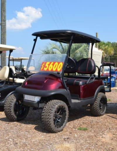Club Car Precedent Burgundy $5600