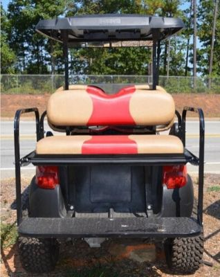 Club Car Precedent Red - $5300 Rear