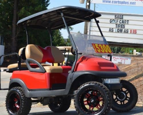 Club Car Precedent Red - $5300