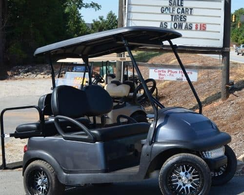Club Car Precedent Charcoal Body Side - $4950