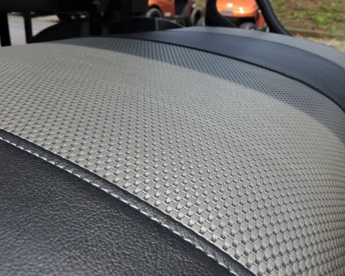 EZ Go Custom Built Golf Cart (Seat Detail)
