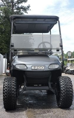 EZ Go Custom Built Golf Cart (Front View)