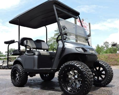 EZ Go Custom Built Golf Cart (Side View)