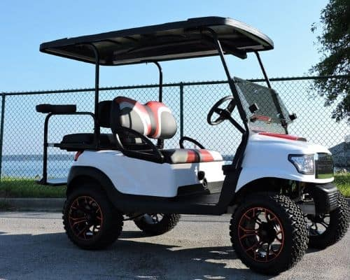 Club Car Precedent with Alpha Body and Hood Scoop (1)