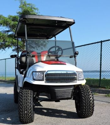 Club Car Precedent with Alpha Body and Hood Scoop (2)