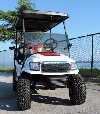 Club Car Precedent with Alpha Body and Hood Scoop (3)