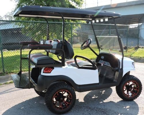 Club Car Precedent with Alpha Body and Hood Scoop