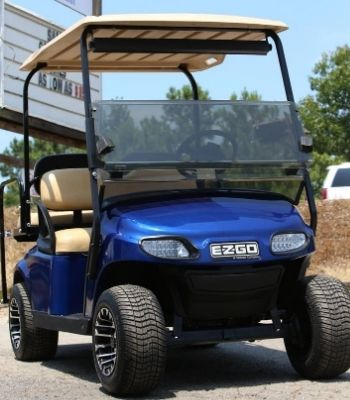 EZ-GO with Midnight Blue Painted Body (Front) (1)