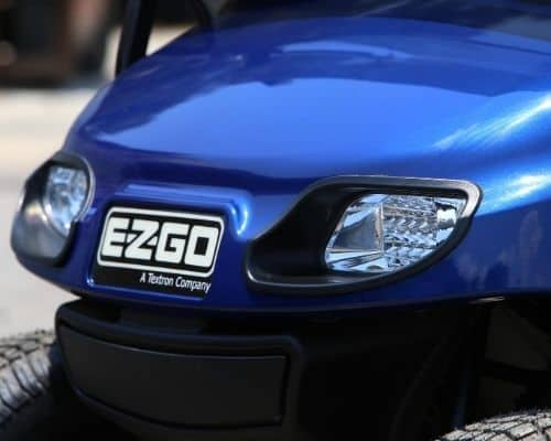EZ-GO with Midnight Blue Painted Body (Grill)