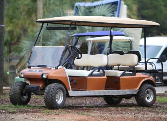 Gas Club Car DS Limo Cart (1)