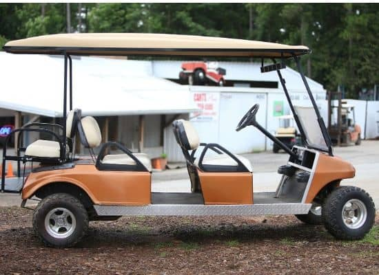 Gas Club Car DS Limo Cart