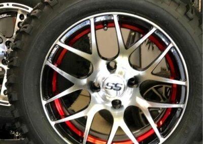 PURSUIT Wheel set Red