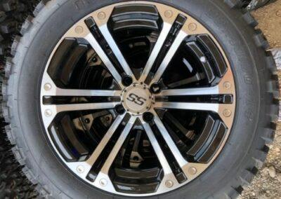 Specter Wheels on Duro Tires All Terrain Tires