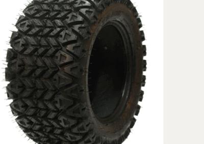 Carlisle 22X11-10 on Black Steel Rim off road golf cart tire