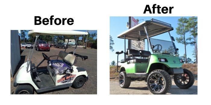 Golf Cart Restoration 2