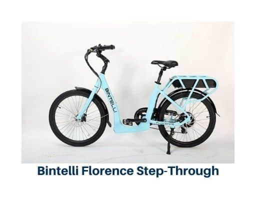 Bintelli Florence Step Through Electric Bike