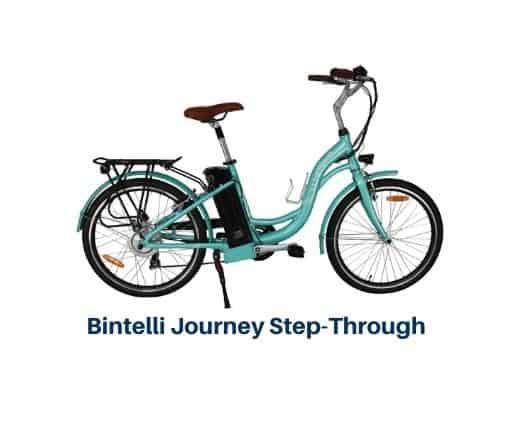 Bintelli Journey Step Through Electric Bike