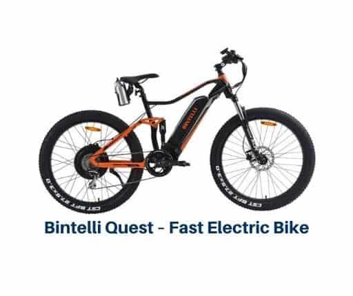 Bintelli Quest – Fast Electric Bike