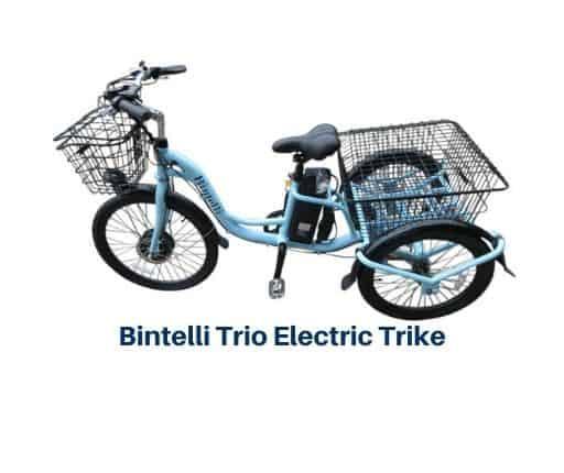 Bintelli Trio Electric Trike